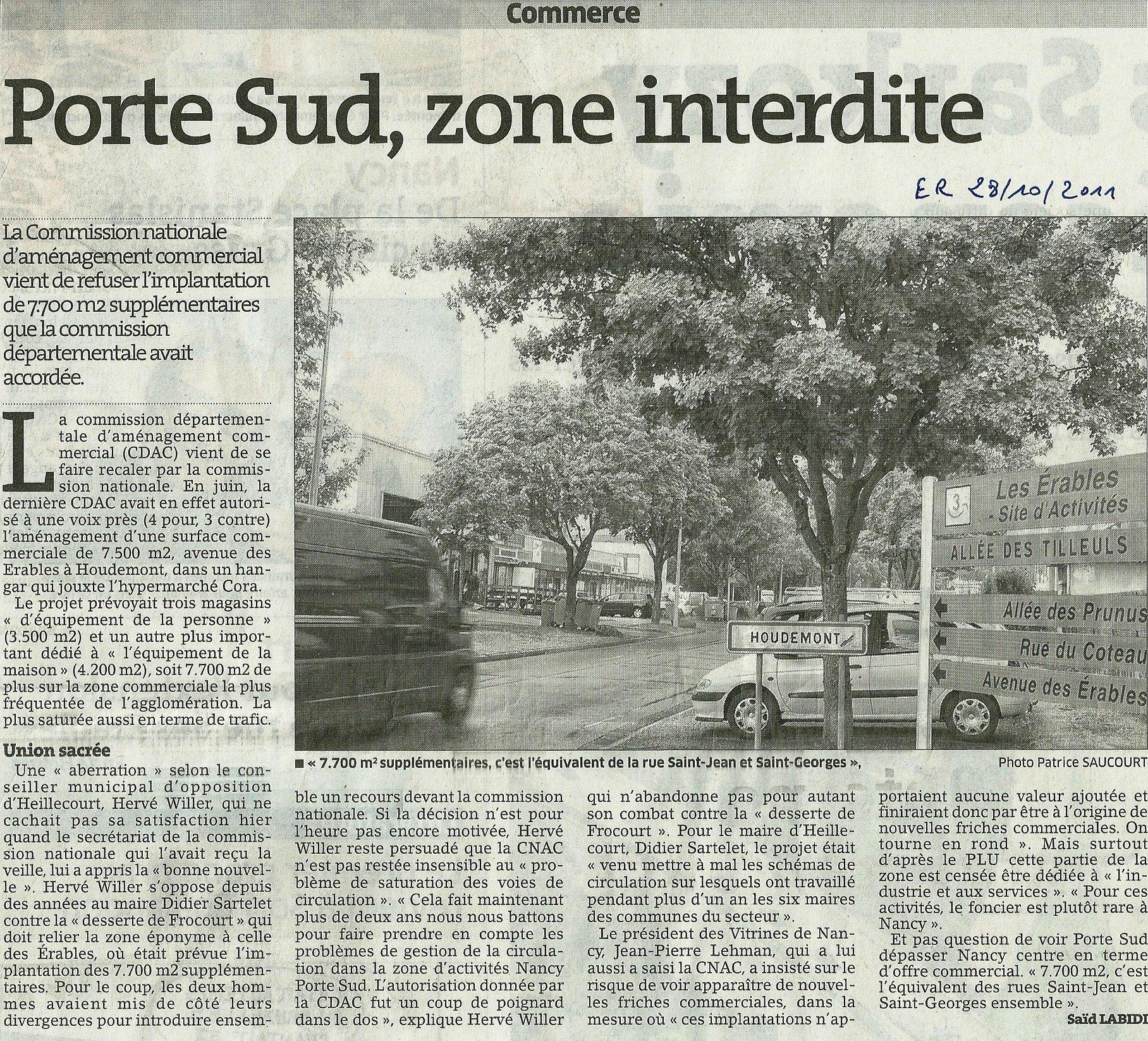Energie nouvelle pour heillecourt cadre de vie - Zone commerciale nancy ...