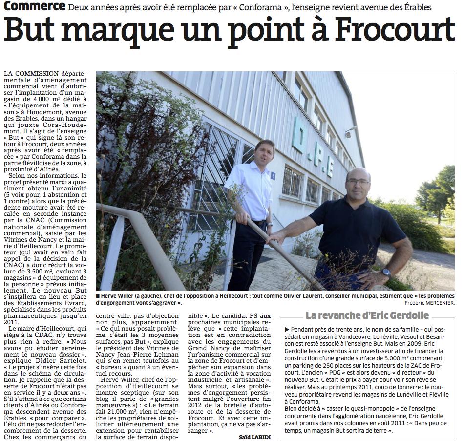 Energie nouvelle pour heillecourt zone commerciale - Zone commerciale nancy ...